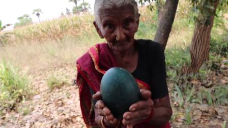 印度老人捡到绿色神秘巨蛋,被儿子劈开吃掉,后来才知道是国宝