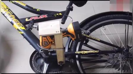 纯手工改造, 自行车秒变电动车