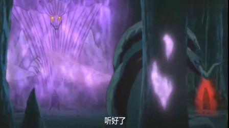 火影忍者:三大仙术之源终于出现了,兜开仙人模式VS鼬和佐助