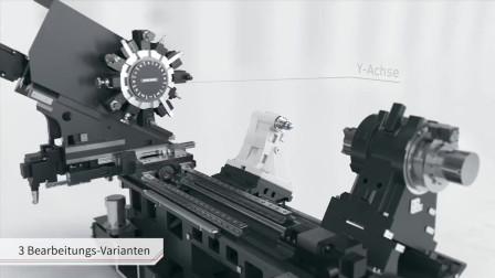 德国精密数控机床的演示,简直就是变形金刚的科幻片