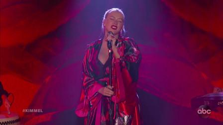 Christina Aguilera首演《花木兰》原声《Loyal Brave True 忠勇真》