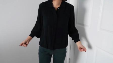 春季火了一种穿法,针织衬衫+牛仔裤舒适休闲,基础款穿出高级感