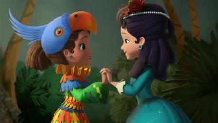 小公主苏菲亚:克莱奥公主和苏菲亚一起参加话剧表演,很精彩!