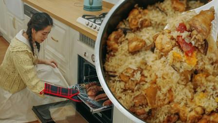电饭锅做茶楼招牌茶点,香糯可口的糯米鸡