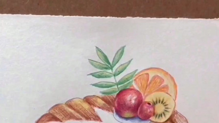 如何画一个漂亮的蛋糕 零基础小白彩要看的绘画过程 早看到早学会