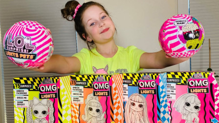 萌宝玩具:好有趣!小萝莉分享惊喜娃娃的惊喜蛋你喜欢吗?