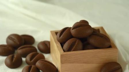 纯手工制作巧克力咖啡豆,那个口水!