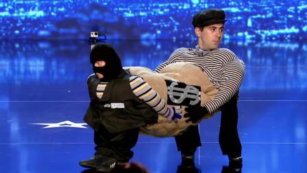 创意搞笑秀,一人撑起了舞台,达人秀精彩视频!