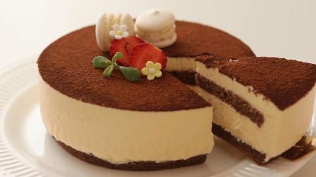 一首歌的时间,学会简单却又含义深刻的提拉米苏蛋糕制作