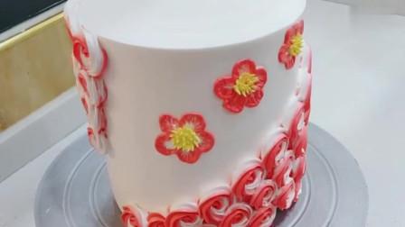 不一样的花朵蛋糕,这手艺简直太赞了!