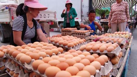 2020最新数据:鸡蛋批发价格大跌24%,真是老百姓的福音?