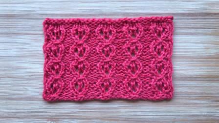 别样铜钱花的编织方法,简洁精致,给儿童织衣服很漂亮毛线时尚编织