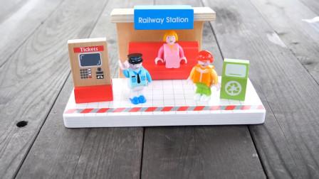 托马斯小火车:越看越精彩!会是哪一列火车先抵达车站呢?
