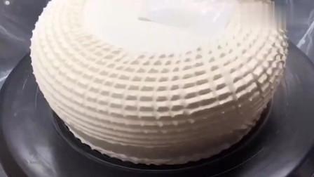 超治愈的蛋糕裱花,强迫症看着太过瘾了!