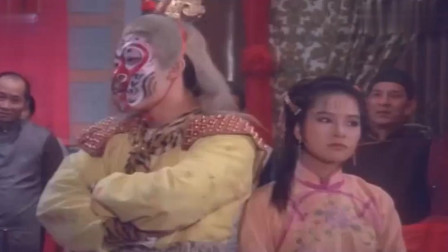 香港电影 陈观泰功夫片 小伙子扮成猴子跳舞 真逗。
