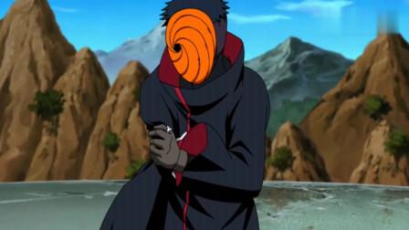 火影忍者:团藏的两个小弟对战带土,居能逼的带土损失一条手臂