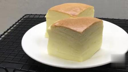 5分钟教你在家做古早味蛋糕,蓬松柔软,入口即化,看一遍就学会