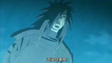 """火影忍者:宇智波斑""""有哪个成年人会和小孩子生气?"""" 斑爷单挑五影!"""