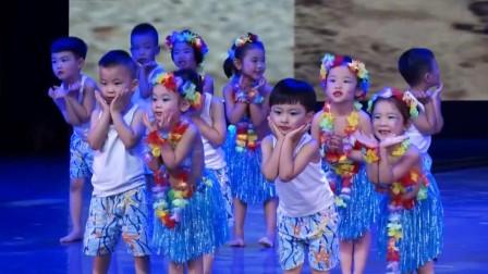 幼儿园六一儿童节舞蹈《小小一粒沙》