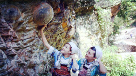 """贵州一神奇山崖能""""生""""石头蛋,每隔30年产一次蛋"""