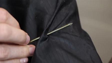 衣服破了?搓一搓就复原!这种布料竟能自动修复