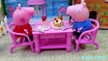 宝利亲子游戏 第一季 草莓果酱蛋糕是小猪佩奇和弟弟乔治最喜欢吃的午餐