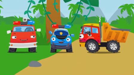 汽车家族被可乐搞的一团糟,这可怎么办呢?工程车总动员游戏