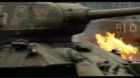 经典坦克大战,一辆虎式大战一群T34,  丝毫没有败迹,看完你就知道虎式坦克的威力