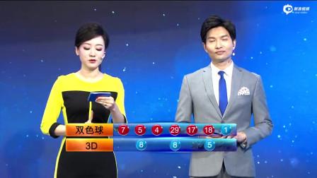 中国福利彩票第2020011期双色球开奖直播
