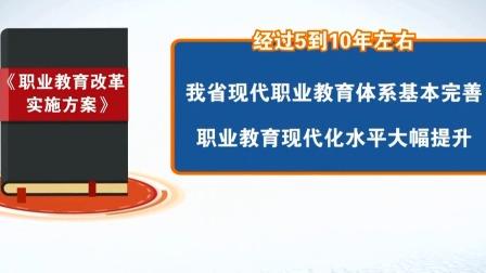 第一时间 辽宁卫视 2020 我省出台《职业教育改革实施方案》