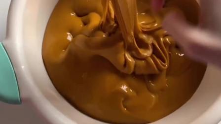 摩卡巧克力酱起泡胶,好玩到停不下来