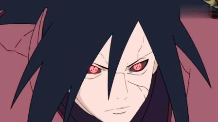 火影忍者:宇智波斑爷大战忍者联军,斑爷这眼睛玩的溜啊,写轮眼轮回眼随意切换