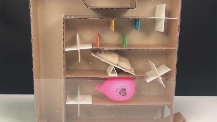 人人都可以做的DIY,最简单的仓鼠迷宫玩具,你也能学会