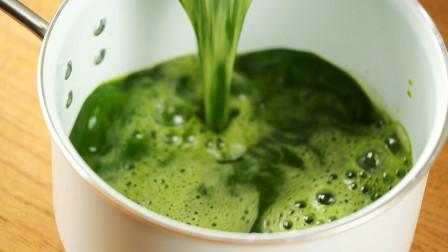给面粉加入神秘液体,吸溜一口,竟是春天的味道!