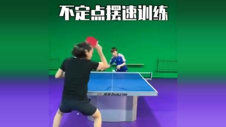 乒乓球教学:不定点摆速训练,让你的节奏感爆发