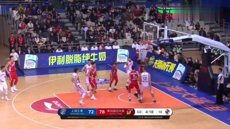 CBA第13轮-上海VS青岛:麦卡勒姆首秀竟然如此优秀30分10助
