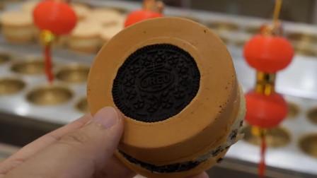 台湾烘焙小店,奥利奥小蛋糕,制作过程很有意思