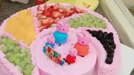 女儿一周岁的生日,给她订了这款蛋糕,成品我真是太满意了!