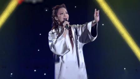 张韶涵唱《北京一夜》,戏腔一出惊艳众人,丝毫不输霍尊!