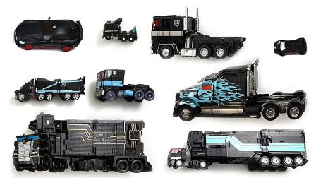 卡车头变形酷炫机器人