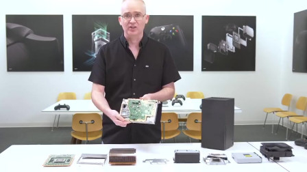 微软次时代新主机Xbox Series X拆解视频