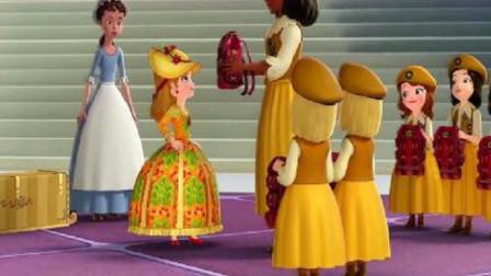 小公主苏菲亚:安柏真是傻,去露营不带帐篷,你是要睡树上吗?