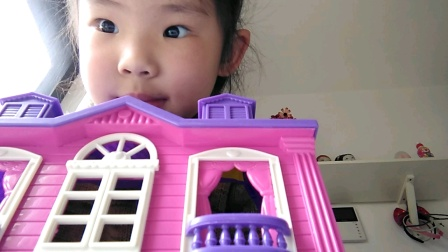 漂亮的公主玩具屋