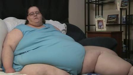 """世界上""""最胖""""的女性,体重足足有1500斤,却嫁给了20岁的帅小伙"""