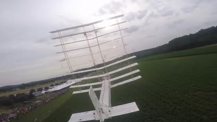 20个翅膀的飞机你见过吗?造价高达230亿,还以为蜈蚣在天上飞