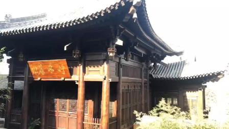 """户外木结构古建筑""""竹林居""""刷木蜡油上色效果"""