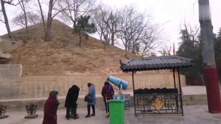河南周口:第一陵—周口淮阳太昊陵,最高峰时每天几十万人来进香