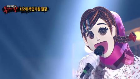 蒙面歌王:这位女歌手也太神了,听的评委都怀疑人生了,全能歌手