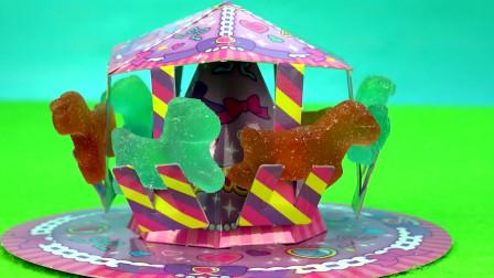 儿童益智日本食玩DIY美味的小马宝莉水果软糖
