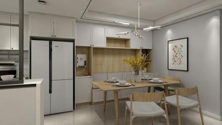 朋友家新房的高级场面:舍弃电视墙,餐厅设计卡座,越住越顺心!
